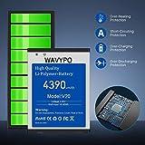 (Upgraded) LG V20 Battery, 4390mAh Wavypo