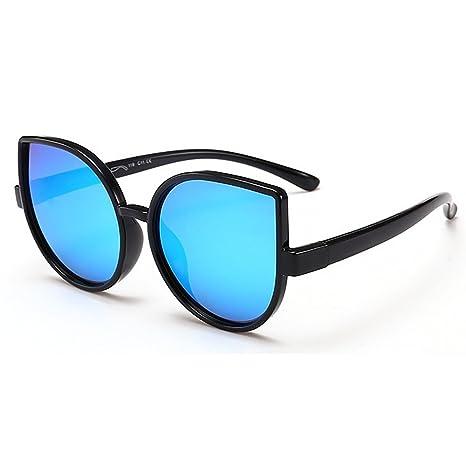 Lentes de seguridad Personalidad Ojos de gato Niños y niñas Gafas de sol polarizadas flexibles con