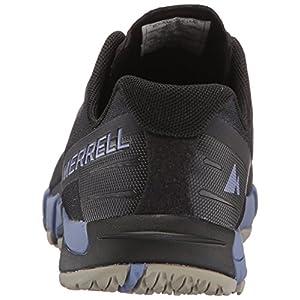 Merrell Women's Bare Access Flex Trail Runner, Black/Metallic Lilac, 5.5 M US