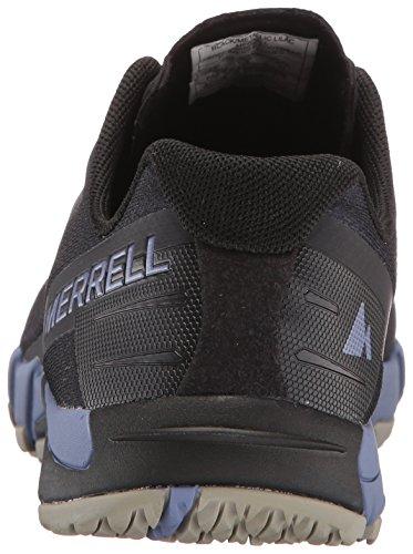 Merrell Womens Access Flex Trail Runner Nero / Metallico Lilla