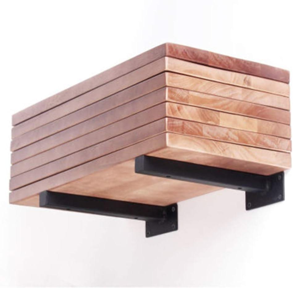 YHBZLG Supporto per mensola a Muro Staffa a Triangolo Fisso Multifunzione ad Angolo retto Staffa a Parete per mensola per mobili