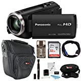 Best HD Camcorders - Panasonic HC-V180K Full HD 1080p Camcorder w/32GB Accessory Review
