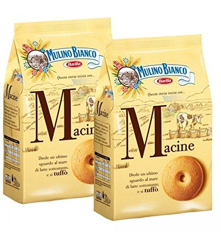 Mulino Bianco - Biscuits Macine 350 gr x 2 Sachets: Amazon.es: Alimentación y bebidas