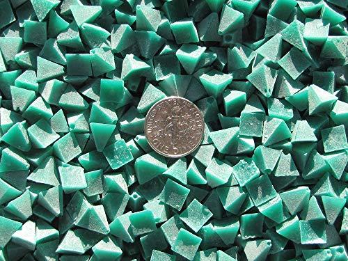 """Algrium Glassworks 2 Lb. 1/4"""" Pyramid Polishing Plastic Tumbling Tumbler Tumble Media (V) Pre-plate price tips cheap"""