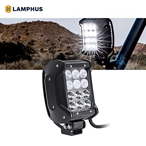 "LAMPHUS CRUIZER 4"" 36W LED Work Light Bar    – Dual-Stacke"