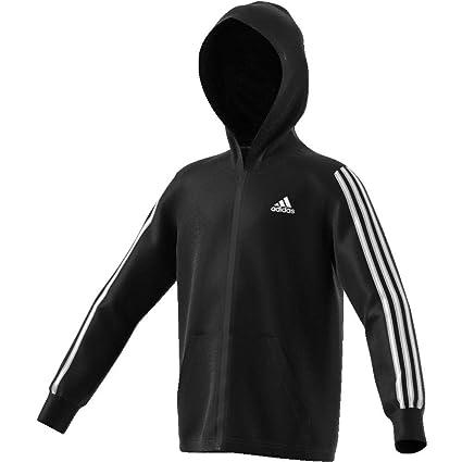 adidas DV0819 Sudadera, Niños, Negro (Black/White), S