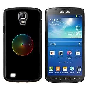 Rango Pantone- Metal de aluminio y de plástico duro Caja del teléfono - Negro - Samsung i9295 Galaxy S4 Active / i537 (NOT S4)