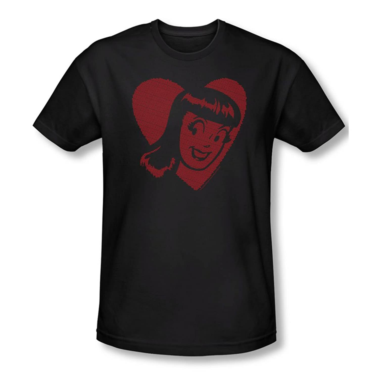 Archie Comics - Mens Veronica Hearts Slim Fit T-Shirt