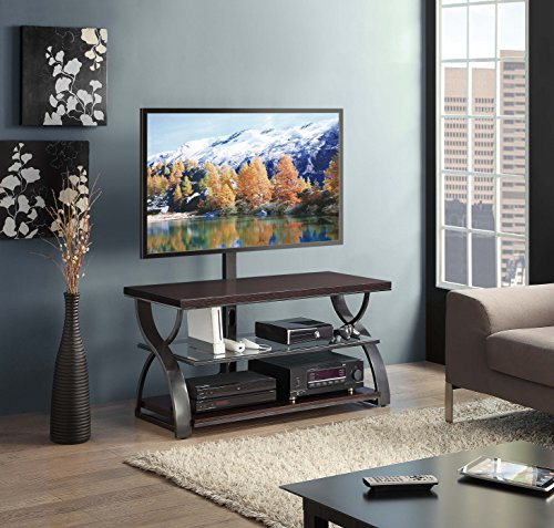 Whalen Furniture Calico 3-in-1 TV Stand, 54-Inch by Whalen Furniture