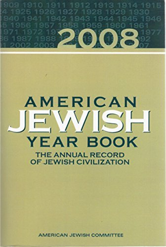 American Jewish Yearbook; 2008