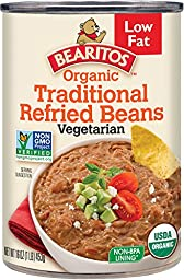 Bearitos Organic Refried Beans, 16 Ounce (Pack of 12)