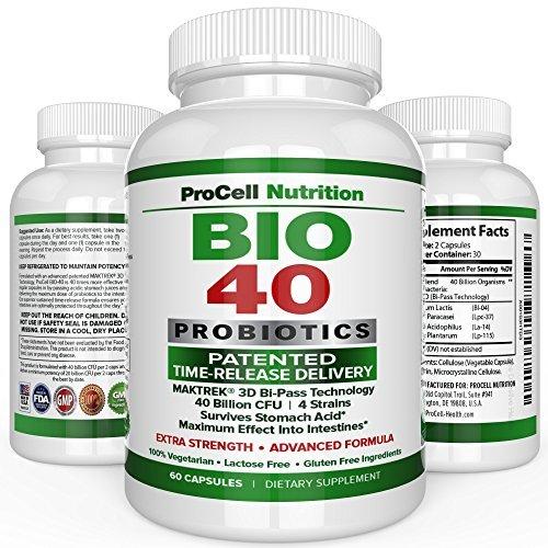 Bio 40 Probiotics by ProCell Nutrition