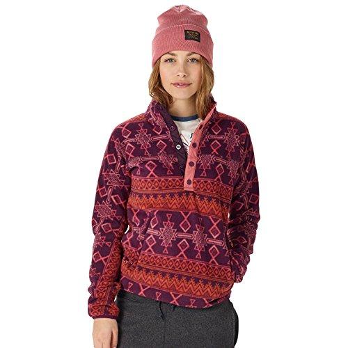 Burton Anouk Pullover Fleece, Starling Mojave, X-Large -