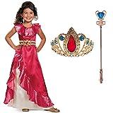 Elena of Avalor Elena Adventure Dress Classic Toddler Costume Bundle Set 3-4T