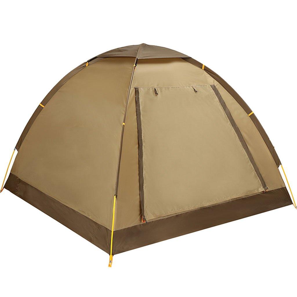 TENT-L ZP Zelt, 2 Personen automatisches im Freien regendichtes Familien-Feld-Campingzelt huwaizhangpeng (Farbe : 2)