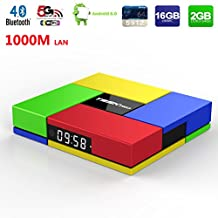 LuckyOne T95K Pro Amlogic S912 Octa Core 2G DDR3/ 16G EMMC Android 6.0 Marshmallow TV Box with Dual Band 2.4/5G Wifi Bluetooth 4K2K HDR 1000M Ethernet H.265