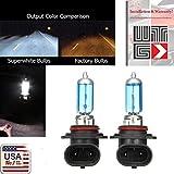 9006 headlight bulb 100w - WTG 9006 1 PAIR 100W Super White Xenon Halogen OEM Headlight Light Bulbs (9006-100w)