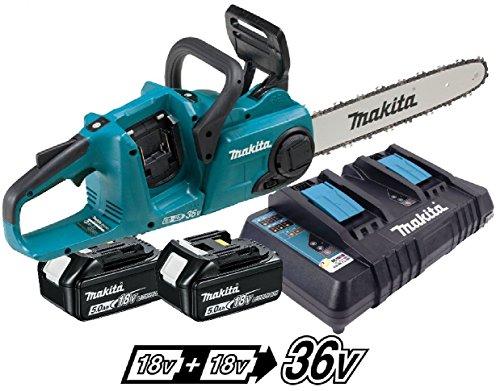 Makita DUC353PT2 Twin 18v / 36v LXT Cordless 35cm Chainsaw