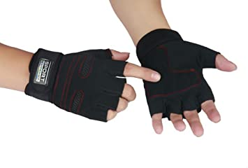Weight Lifting Gym Sport Training Wrist Wrap Gloves Exercise Workout Training