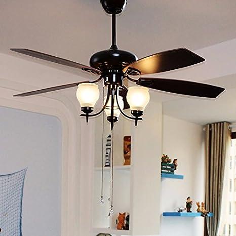Lamparas de techo con ventilador