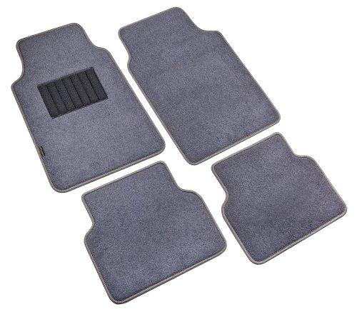 Highland 4560500 Pacific Coast Highway Luxury Carpet Floor Mat, Gray