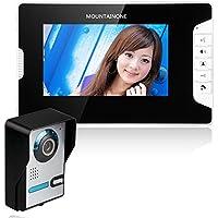 MAOTEWANG 7 LCD Video Door Phone Doorbell Intercom Kit IR Camera 1-Monitor Night Vision 700TV Lines 10m Cable
