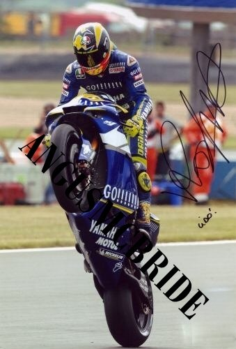 vALENTINO rOSSI Sexy Photo Autograph Autographed photo Signed Autogramm Reprint RP CM 16*12 (Rossi Valentino Photograph)