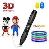 3D Pen, 3D Printer Pen with LED Display,USB Charging,Temperature Control & Speed Printing