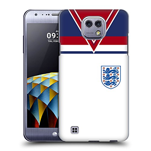 Official England Football Team 1982 World Cup 2018 Retro Crest Hard Back Case for LG X (1982 Cam)
