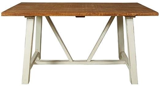 Kaveri vida mango madera caballete mesa de comedor/mesa de comedor ...