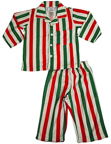 Sara s Prints - Infant Boys Long Sleeve Striped Pajamas 13d3904e3