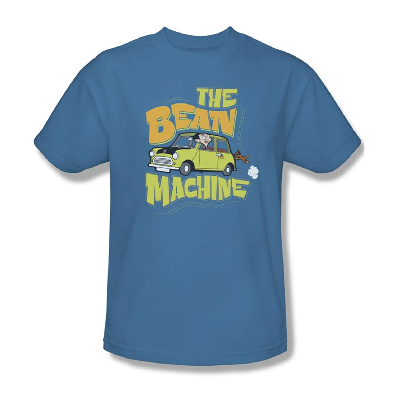 Mr Bean - Mens Bean Machine T-Shirt In Carolina Blue