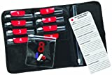 Lewis N. Clark Deluxe Pill Organizer With 9 Slide-Locking Pouches