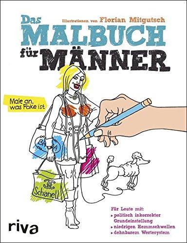 Das Malbuch für Männer: Amazon.de: Florian Mitgusch: Bücher