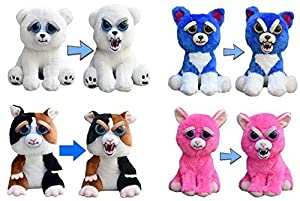 Amazon.com: Feisty Pets 4-Pack: Dog, Cat, Polar Bear, and