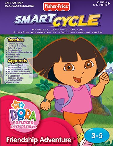 Fisher-Price Smart Cycle [Old Version] Dora Friendship Adventures Software Cartridge [並行輸入品] B07C2DHZF5