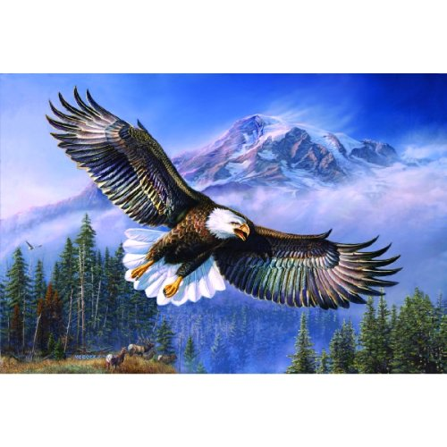 Eagle Anthem A 1000 Piece Jigsaw Puzzle By Sunsout Inc