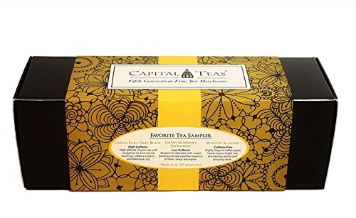Capital Teas Favorite Tea Sampler Set ()