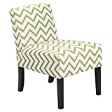 Accent Chair Armless with Wood Legs Home Dining Chairs With Ebook