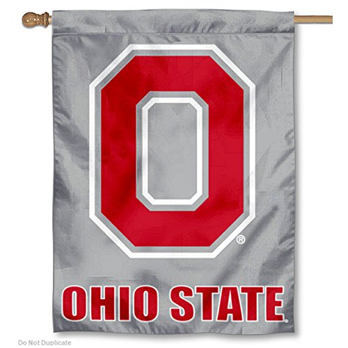 Osu Block (OSU Buckeyes Block O Logo House Flag)