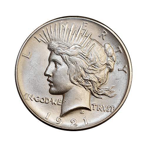 1921 P Peace Silver Dollar - Gem BU/MS/UNC