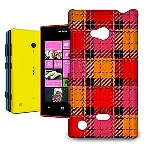 Phone Case For Nokia Lumia 720 - Tartan Love Glossy Designer