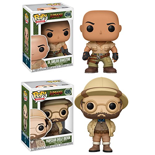 Jumanji: Welcome to the Jungle Dr. Smolder Bravestone and Professor Shelly Oberon