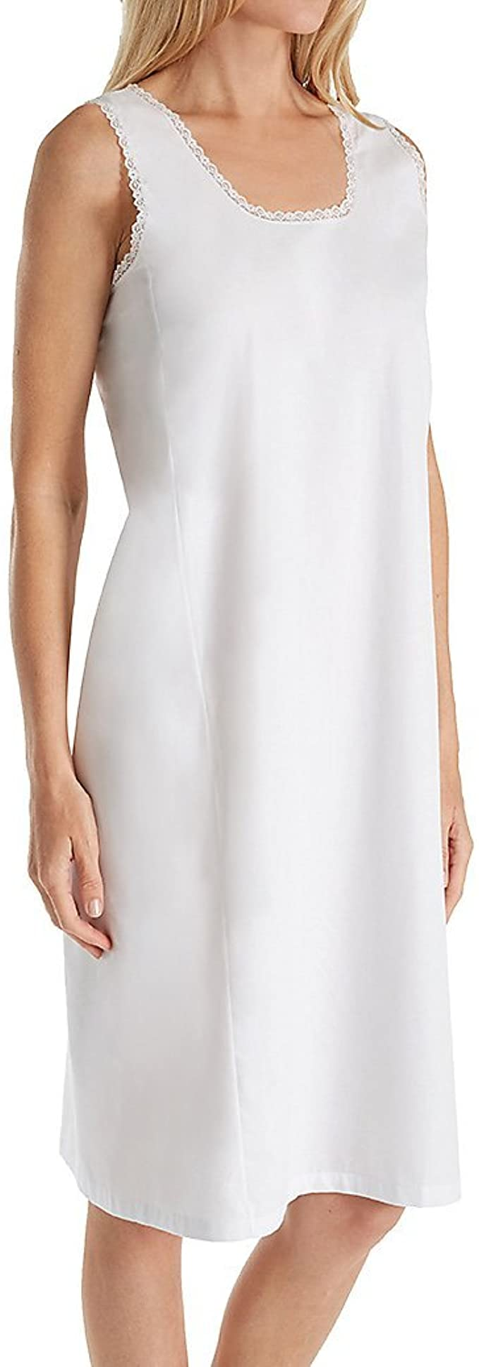 Vintage Inspired Slips Velrose Cotton Full Slips White Style 801  AT vintagedancer.com