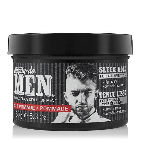 Dippity-do Men 3-1 Pomade – Men's Hair Styling Pomade 6.3 oz.