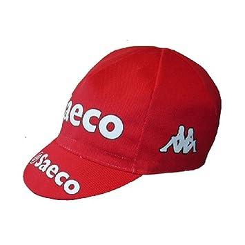 Gorra de equipo ciclista, diseño retro de estilo vintage, talla ...
