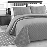 Luxe Bedding 3-Piece Oversized Quilted Bedspread
