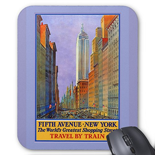 Zazzle Fifth Avenue New York Worlds Greatest Shopping St. Mouse - Avenue Shopping 5th