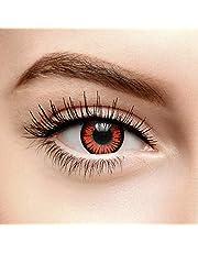 Chromaview Twilight Star Gekleurde Contactlenzen Zonder Sterkte Oranje (30 Dagen)