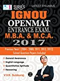 IGNOU Openment Entrance Exam. Guide for M.B.A. and M.C.A.